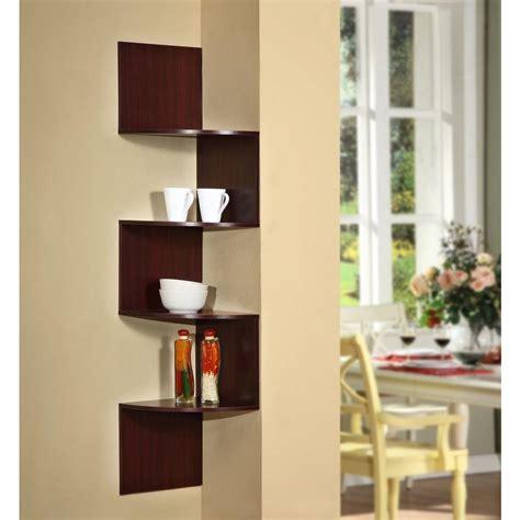 hanging corner shelf 4d concepts hanging wall corner shelf storage 99600 the