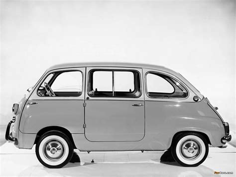 Fiat Multipla 600 by Fiat 600 D Multipla 1960 69 Wallpapers 1280x960