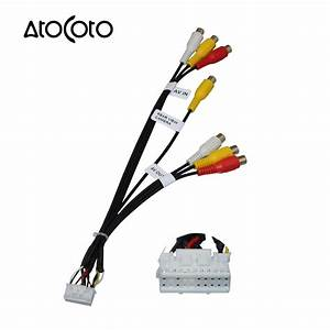 20 Pin Plug Car Stereo Radio Rca Av In Output Wire Harness
