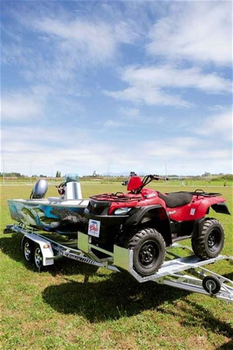 Boat Quad Trailer enduro boats 4100 review