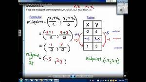 Elasticity Formula Section 1 3 Find Midpoints Using The Formula And Table