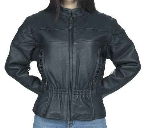 vented motorcycle jacket women 39 s vented leather motorcycle jacket