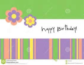 happy birthday greeting card stock photography image 23420022