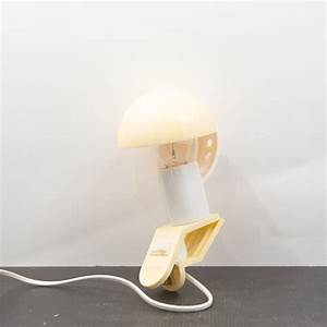 Lampe Pince Lit : lampe champignon pince beige sarlam ~ Teatrodelosmanantiales.com Idées de Décoration