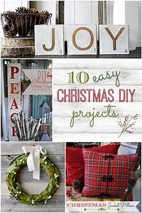 10, Easy, Diy, Christmas, Projects