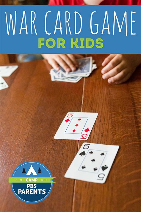classic war card for how to play with all ages 691 | PBS war card game for kids 20150630 9