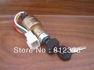 Jk 411 4 Wire Large Current Ignition Key Switch For