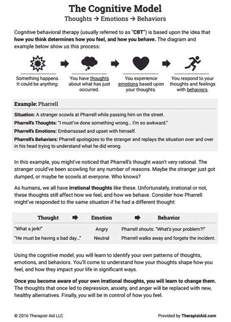 Best 25+ Cbt Worksheets Ideas On Pinterest  Cognitive Behavioral Therapy Worksheets, Cbt And