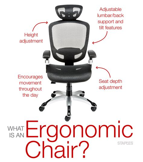 choosing the best ergonomic office chair staples canada
