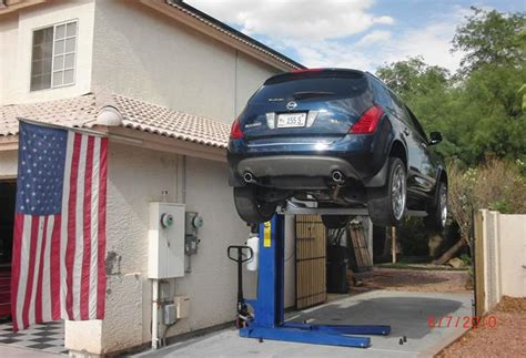 garage lift high quality home garage car lift 6 portable car lifts Home
