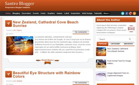 Blog In From Oter Template by Free Blog Template Images Template Design Ideas