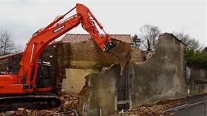 Cout Demolition Maison : d molition d 39 une maison rue du chatenay la chataigneraie ~ Melissatoandfro.com Idées de Décoration