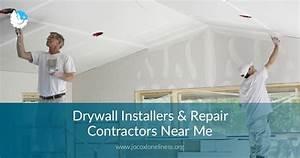 Drywall Install  Repair Contractors Near Me
