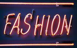 Neon Sign Close Up Royalty Free Stock graphy Image