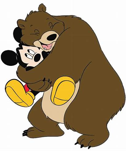 Hug Clipart Mickey Mouse Clip Oso Abrazo