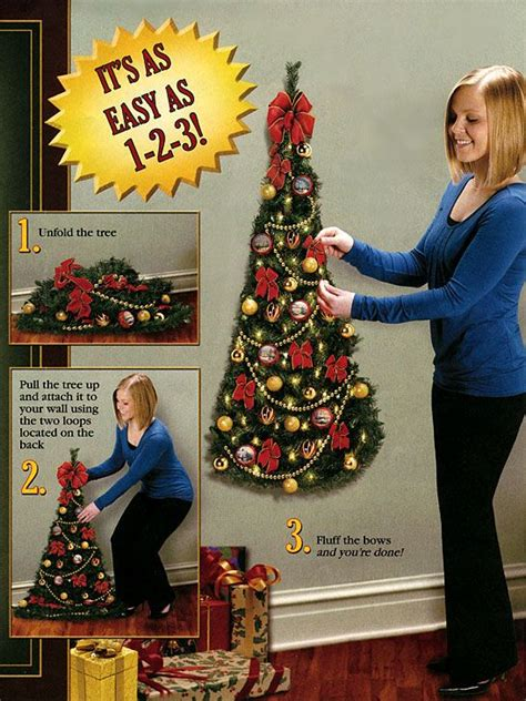 wall mounted artificial  christmas tree amazing