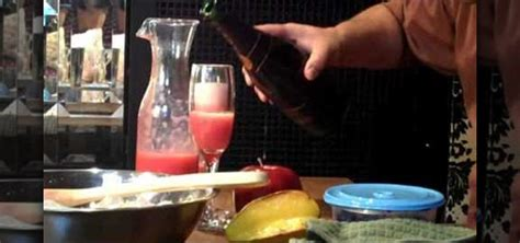 how to make a bellini how to make a strawberry bellini 171 beverages