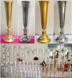 wedding decor wholesale aliexpress buy express free shipping wholesale wedding supplies gold silver trumpet