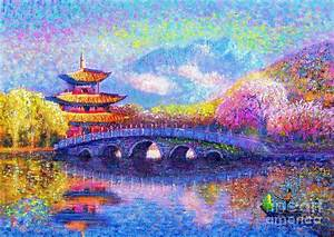 Bridge Of Dreams Painting by Jane Small