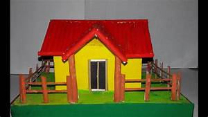 How to make paper house - YouTube