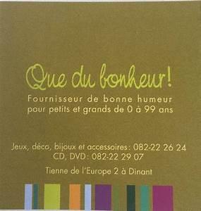Cado Carte Que Du Bonheur : que du bonheur dinant kreu facebook ~ Dailycaller-alerts.com Idées de Décoration