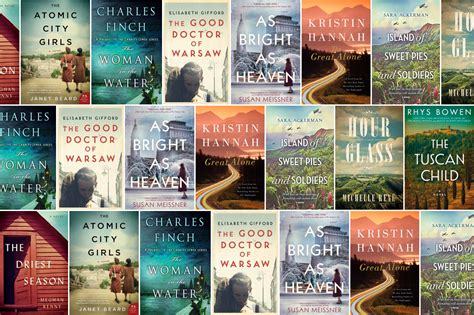 Best New Fiction New Historical Fiction Books Of February 2018