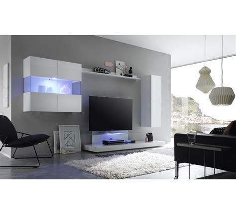 web tv cuisine meuble tv moderne laqué blanc quot box quot 6485