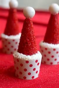 DIY Santa Hat Cupcakes for Christmas