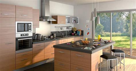 meuble haut cuisine castorama exemple cuisine avec ilot central cuisine en image