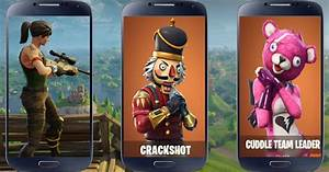 Fornite Battle Skins Free Wallpepers APK Download Free
