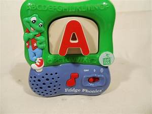 Leap frog fridge phonics magnetic letter game system for Letter fridge magnets game