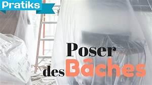 Bache De Protection Peinture : peinture pon age comment poser des baches de ~ Edinachiropracticcenter.com Idées de Décoration