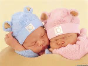Two Babies Sleeping - Cute Baby Wallpaper