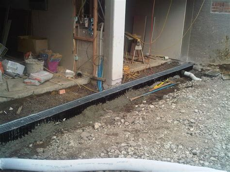 driveway flooding solutions subsoil drainage services auckland euro plumbing ltd