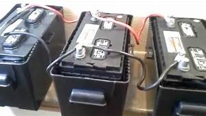 Installing 4kw  Hr Battery Bank With 800w 120v Inverter And