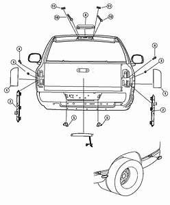 Lamp Tail Stop Light Left Dodge Ram 1500 2500 3500 02 13