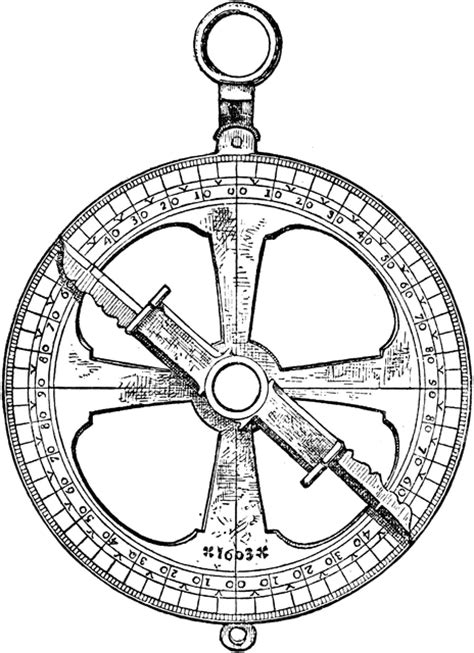 astrolabe clipart