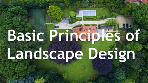landscape design basics principles the basic principles of landscape design general rental center