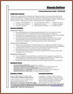 10 best resumes examples budget template letter With best executive assistant resume