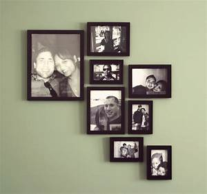 Create a modern picture frame wall design diywithrick
