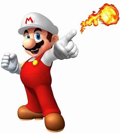 Mario Super Fire Clipart Bros Transparent Characters