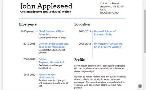 google docs resume builder     resume google