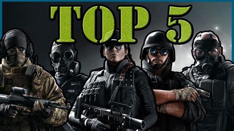 siege v駘o top 5 migliori assaltatori rainbow six siege ita