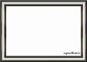 Cadre Noir Et Blanc : une de mes cr ations cadre noir et blanc chic ~ Teatrodelosmanantiales.com Idées de Décoration