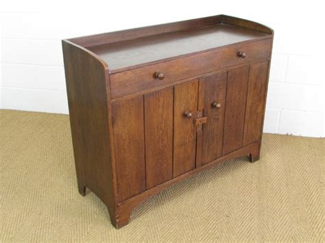 Heal's Arts & Crafts Oak Cottage Dresser / Sideboard
