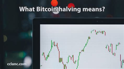 A bitcoin halving is scheduled to take place every 210,000 blocks. What Bitcoin halving means?