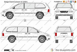 the blueprintscom vector drawing dodge grand caravan le With dodge grand caravan