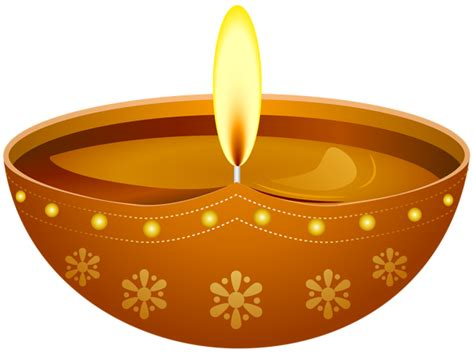 Diwali Candle Transparent Png Clip Art Image