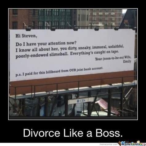 Funny Divorce Memes - divorce by shadowgun meme center