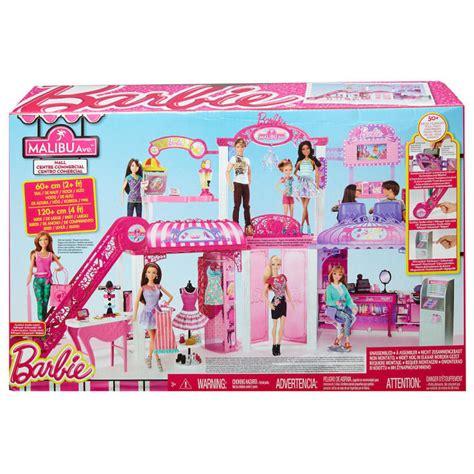 barbie shopping mall playset  doll princess